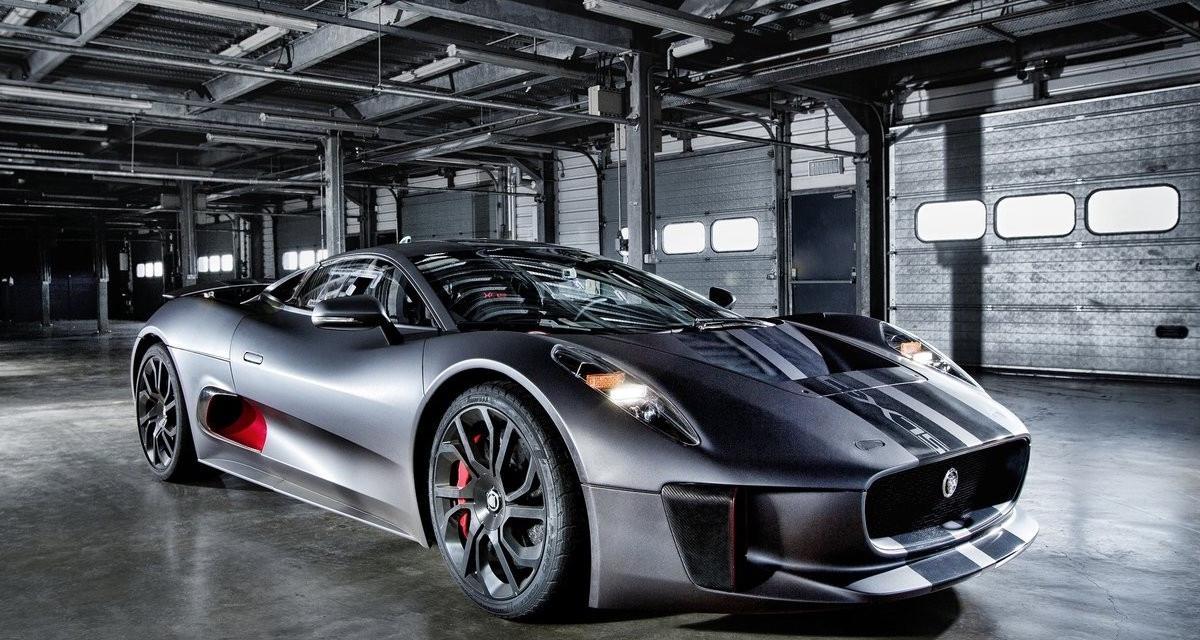 La Jaguar C-X75 au casting du prochain James Bond ?
