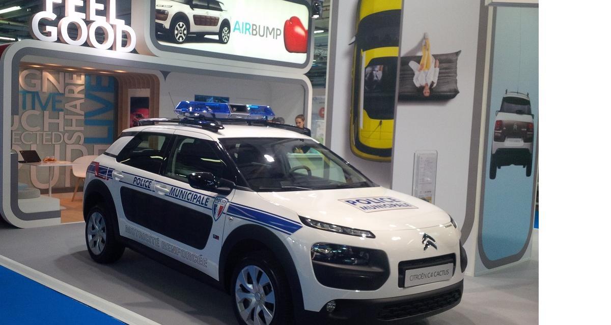 Le Citroën C4 Cactus fait ses débuts dans la police