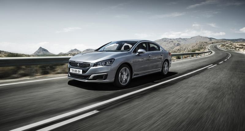 La Peugeot 508 restylée fait ses débuts en Chine