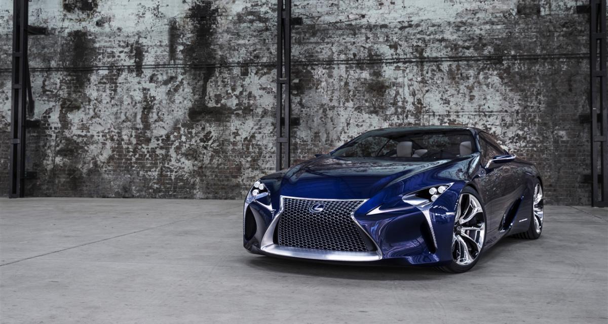 Lexus LF-LC : un modèle de série à venir