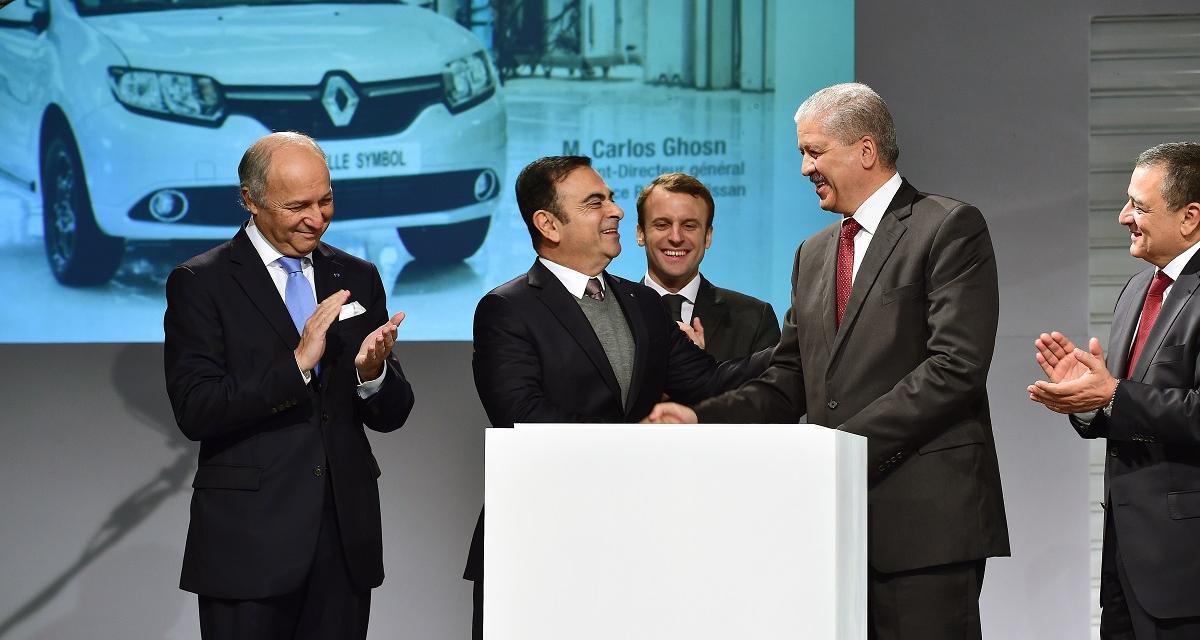 Renault inaugure sa première usine algérienne