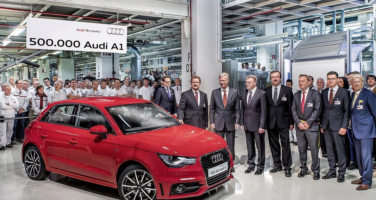La 500 000e Audi A1 sort des chaînes de production