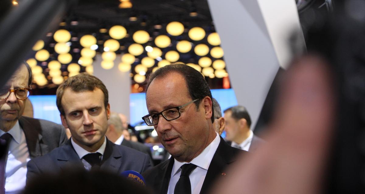 En direct du Mondial : François Hollande chez Peugeot, nos photos exclusives