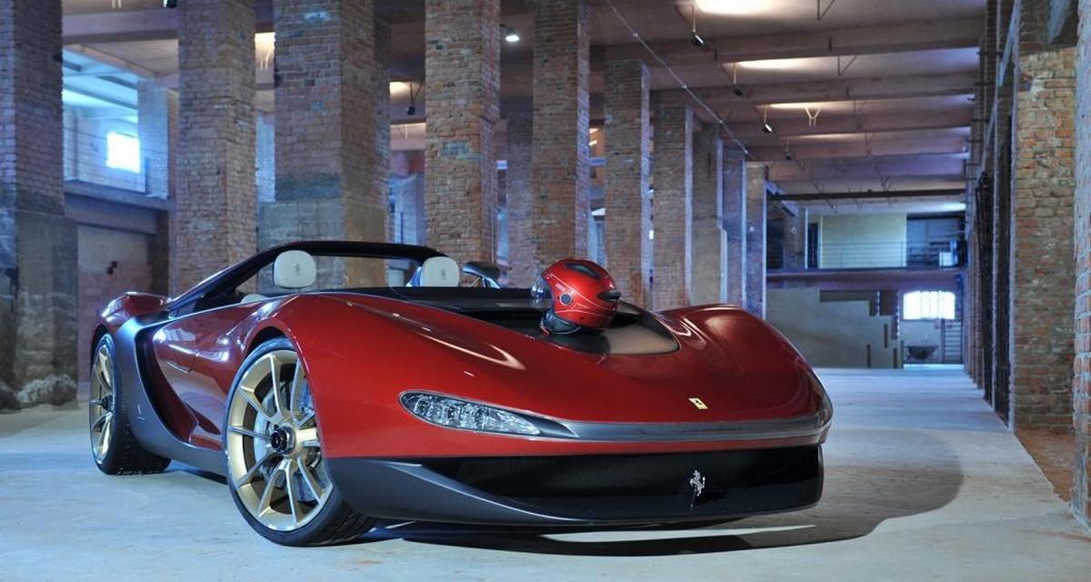 Ferrari veut produire la Pininfarina Sergio
