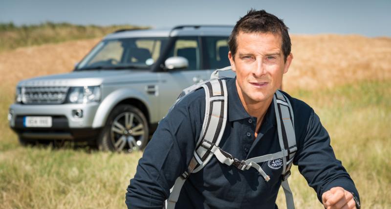 Bear Grylls (Man vs Wild), nouvel ambassadeur Land Rover