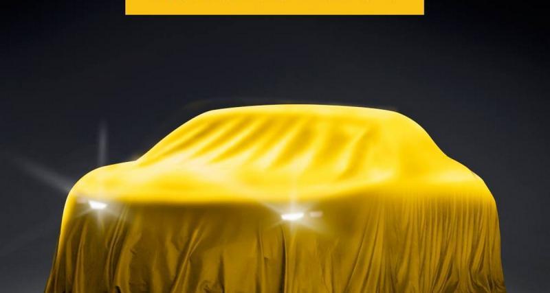 Une Opel mystère pour le salon de Moscou