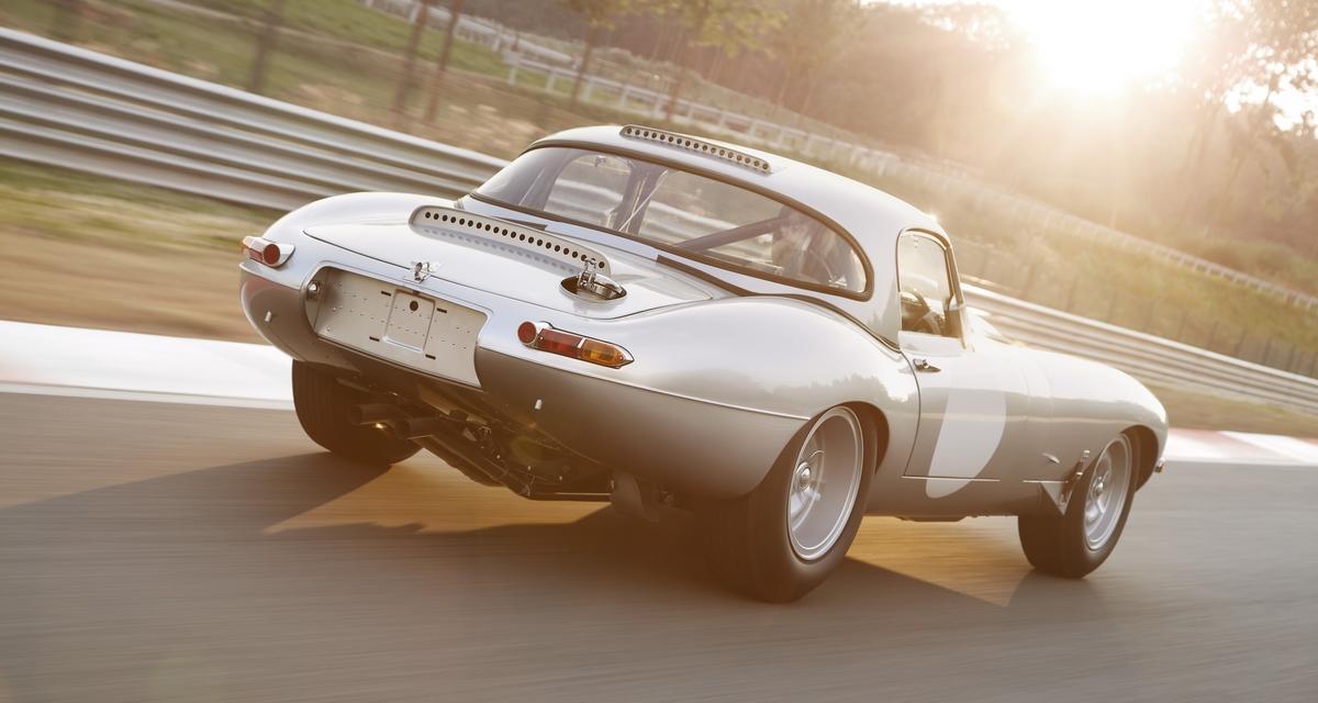 Jaguar fait revivre la Type E Lightweight