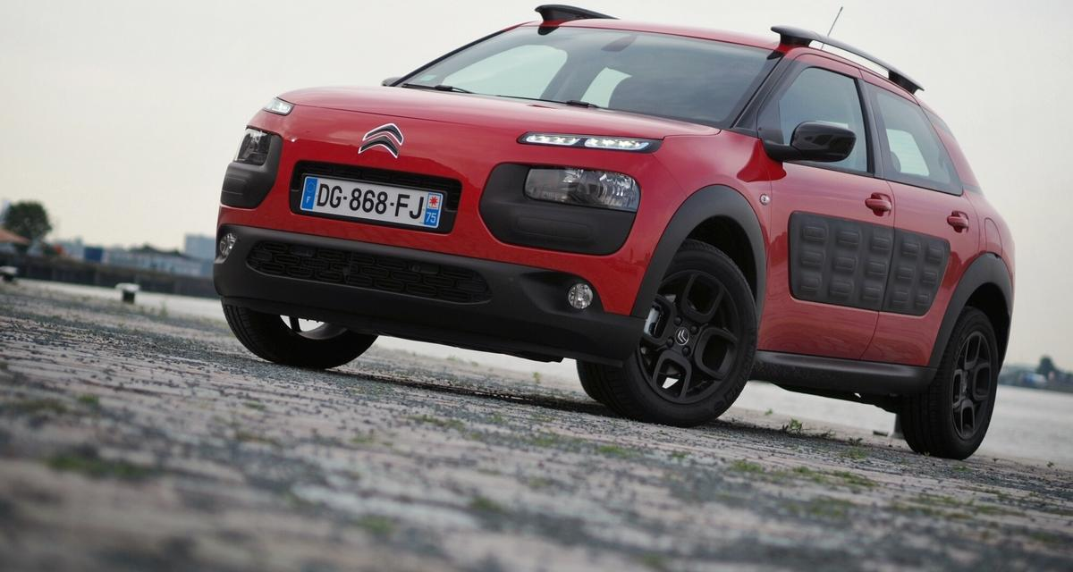 Citroën C4 Cactus : c'est bien parti