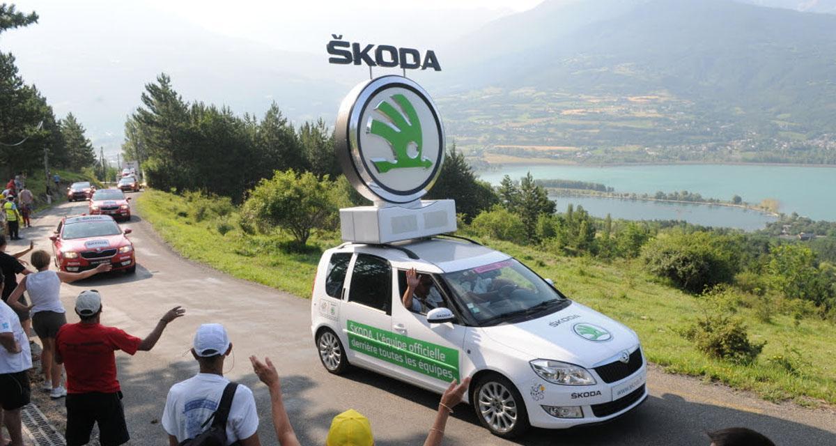 Škoda, une décennie avec le Tour de France