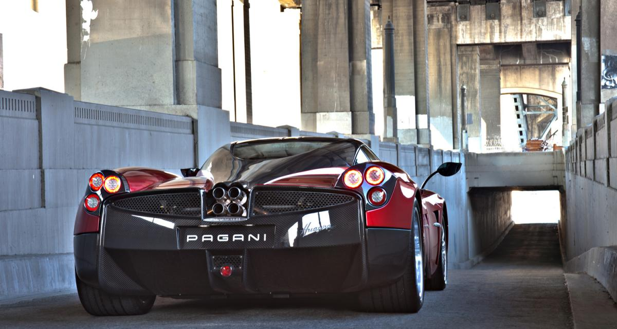 La supercar de la semaine : Pagani Huayra