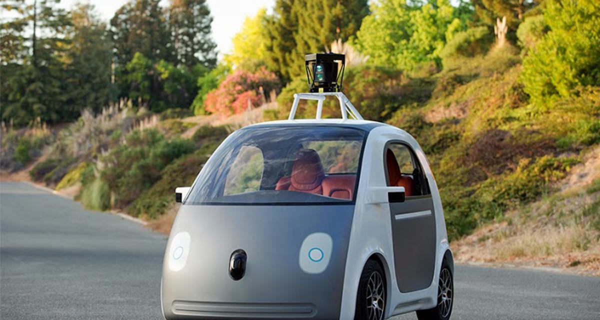 La voiture autonome de Google en action