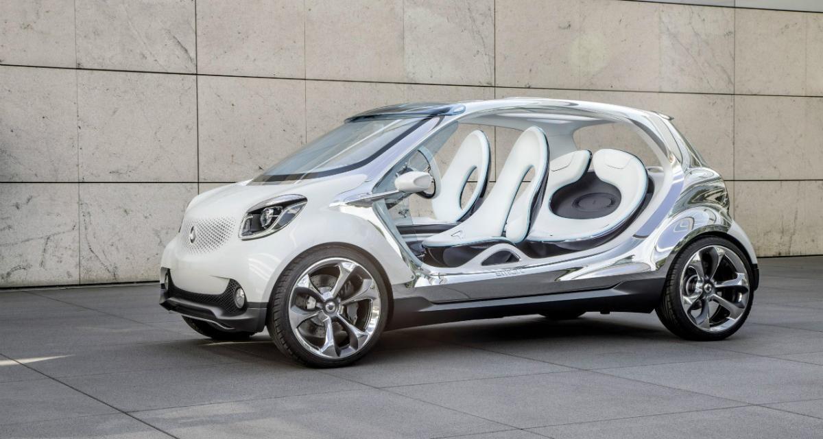 Smart : une future citadine de segment B développée avec Renault