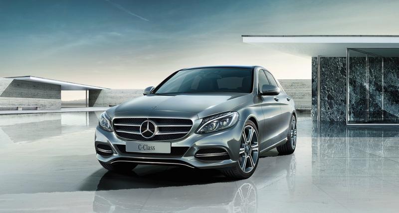 Une Mercedes Classe C Coupé 4 portes en préparation ?