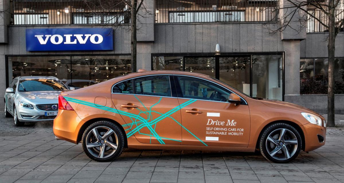 En Suède, 100 Volvo autonomes sillonnent maintenant les rues