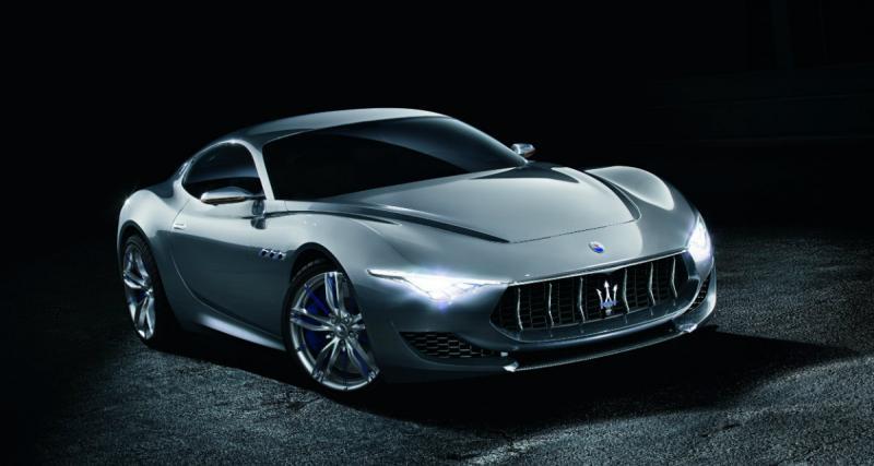 Maserati Alfieri : une anti F-Type pour 2016