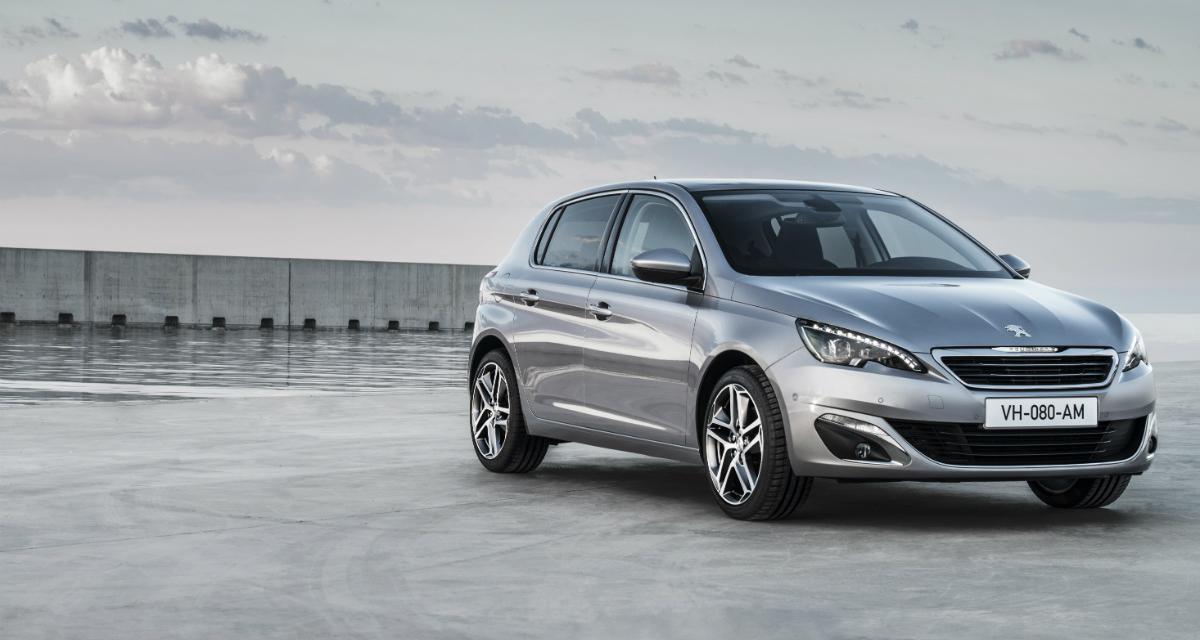 Top 10 des ventes : la Peugeot 308 gagne du terrain