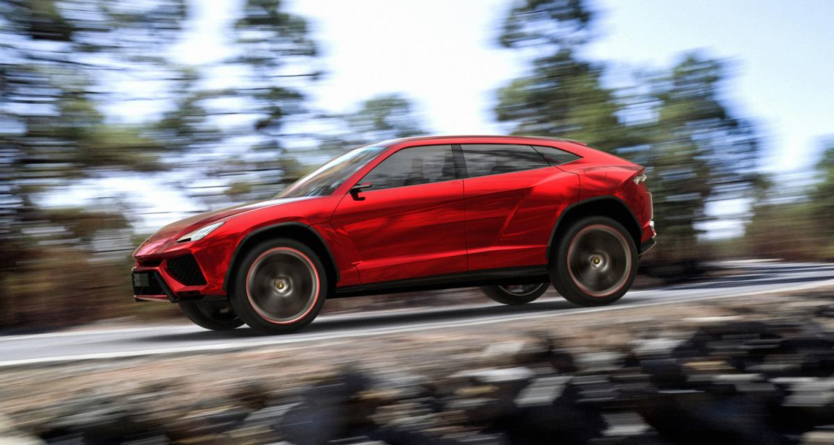 Le Lamborghini Urus n'arrivera qu'en 2018