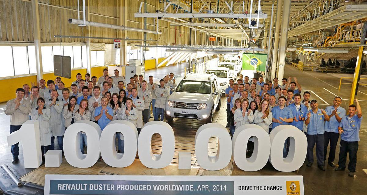 Dacia Duster : le million !