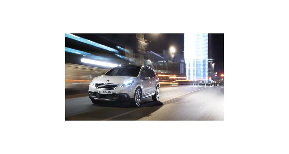 Peugeot 2008 : la production revue à la hausse