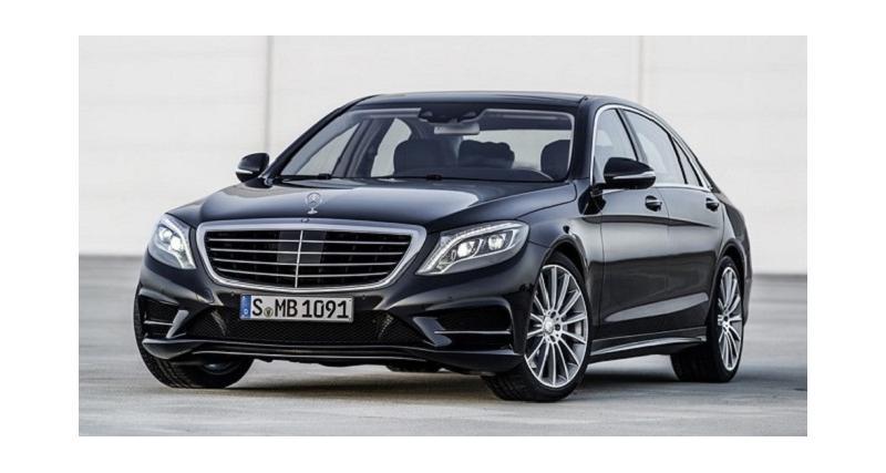 Mercedes prépare une version Maybach de sa Classe S