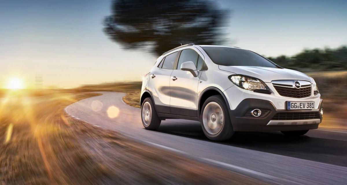 L'Opel Mokka passe le cap des 200 000