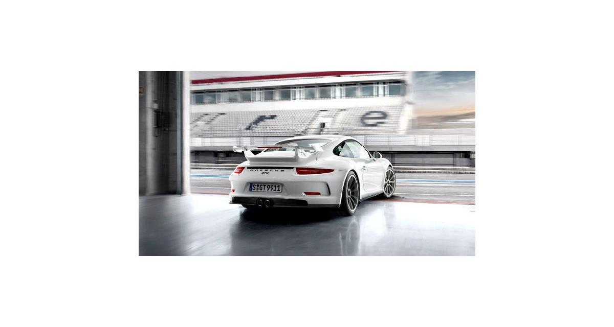Porsche va remplacer le moteur de ses 911 GT3