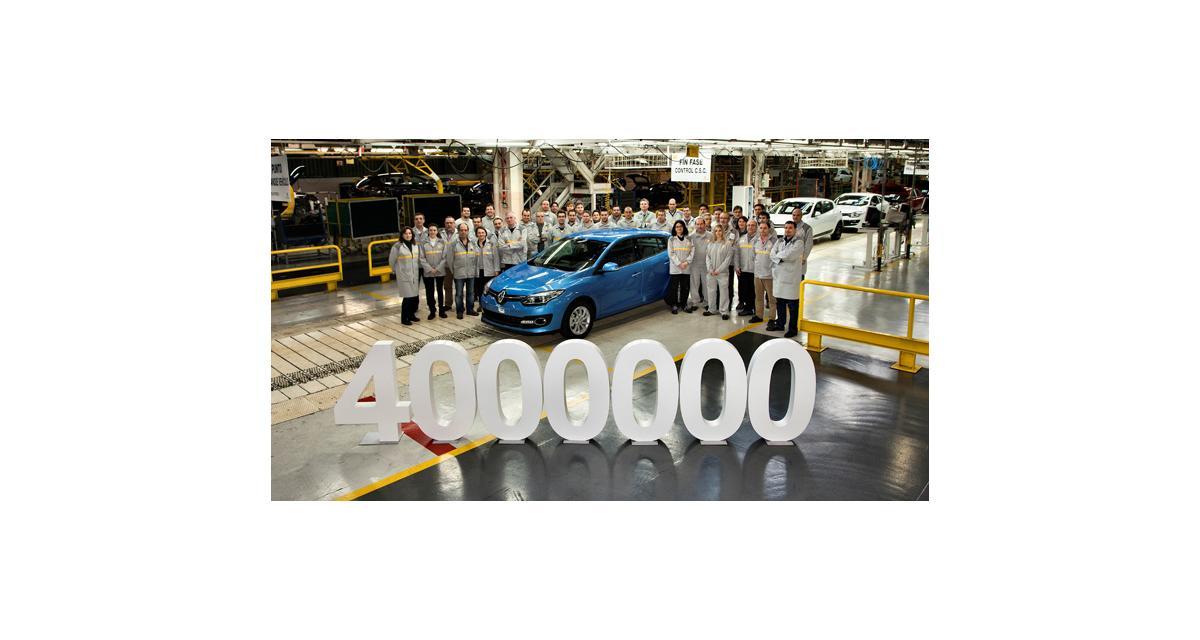 Renault : l'usine de Palencia a produit sa 4 millionième Mégane