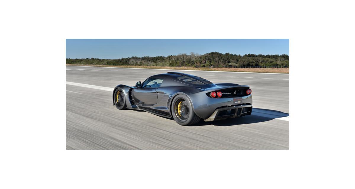 Record de vitesse battu : 435 km/h pour la Hennessey Venom GT