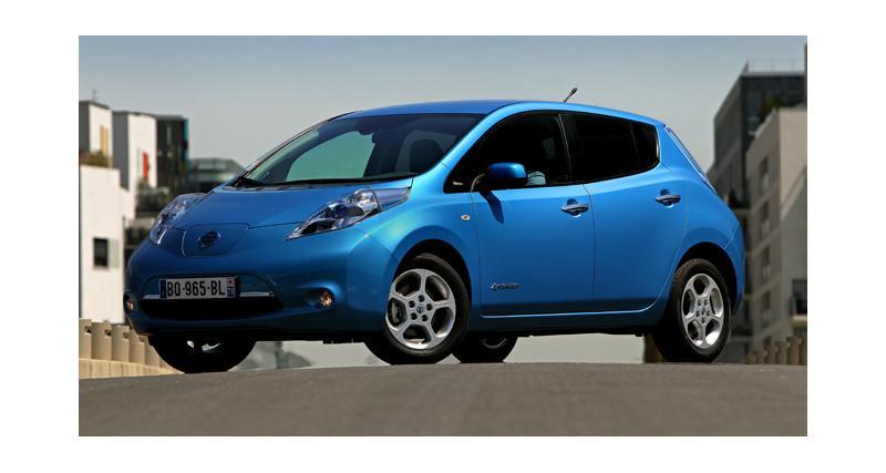 La Nissan Leaf franchit le cap des 100 000 ventes