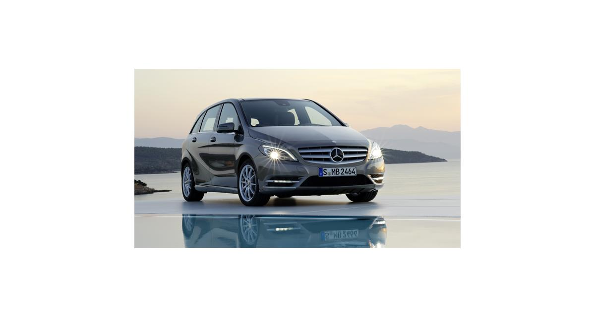 Mercedes : 1 million de Classe B sur les routes