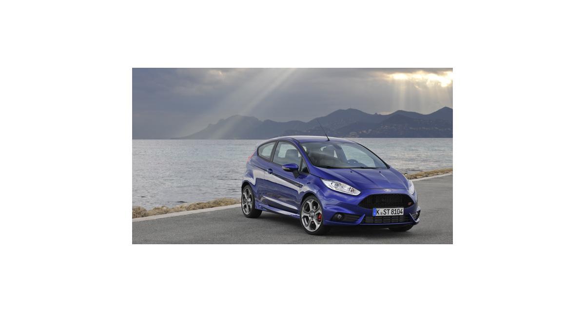 La Ford Fiesta ST élue voiture de l'année par Top Gear