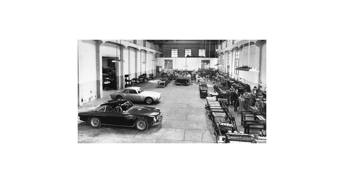 Maserati célèbre son centenaire