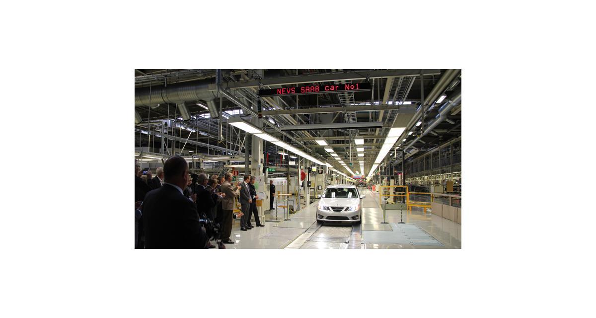 Saab relance la production de la 9-3