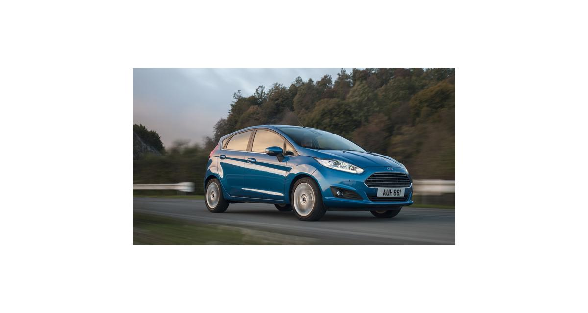 La Ford Fiesta, citadine la plus vendue en Europe