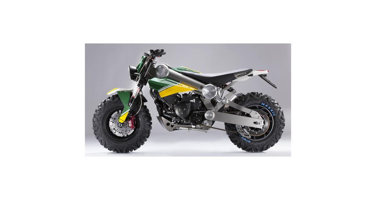 Caterham se lance dans la moto
