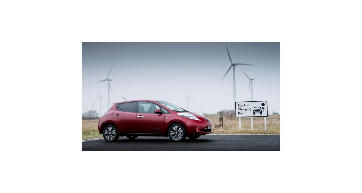 Nissan Leaf : une électrique en tête des ventes en Norvège