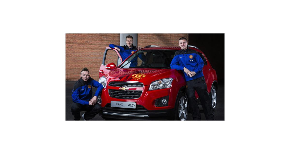 Chevrolet Trax : un exemplaire dédicacé par Manchester United
