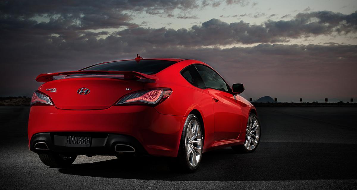 Hyundai : clap de fin pour la Genesis Coupe et le Veloster atmo