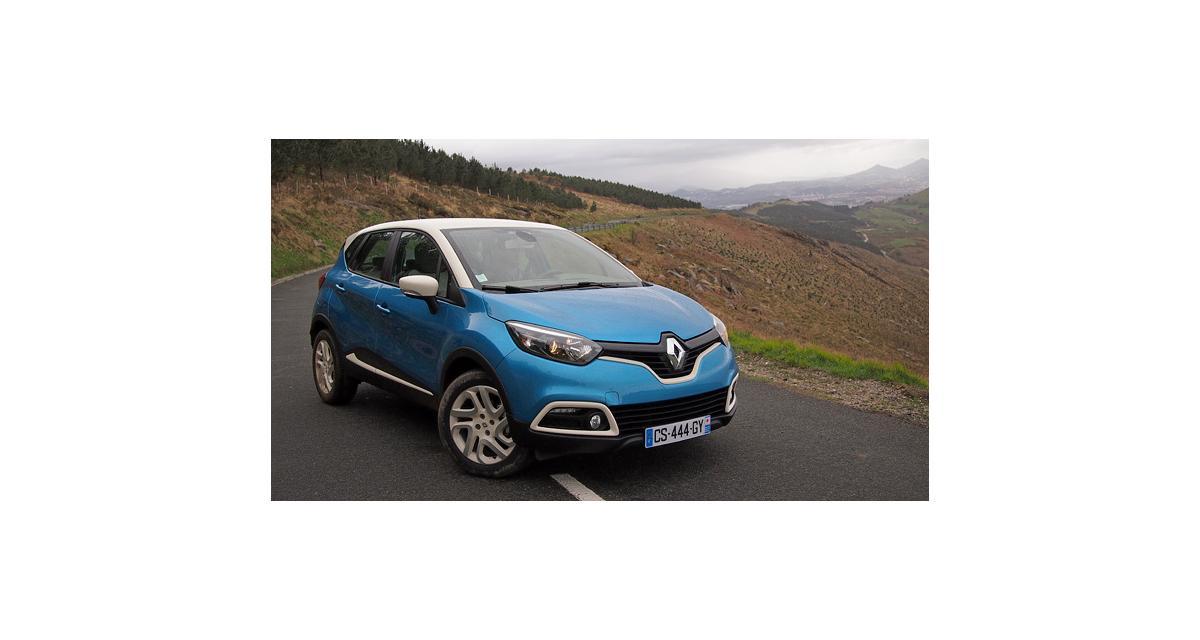 Le Captur porte bonheur à Renault