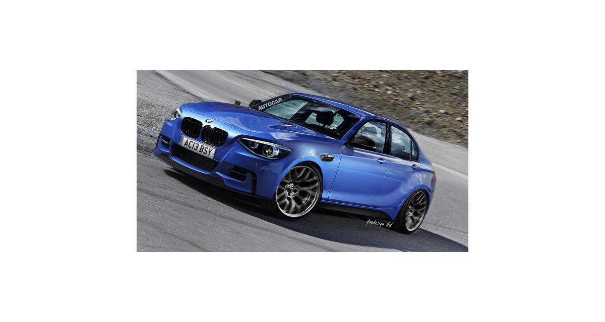 BMW Série 1 berline : future rivale des Mercedes CLA et Audi A3 berline