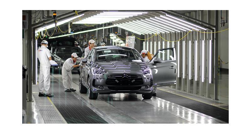 Citroën DS5 : désormais produite en Chine