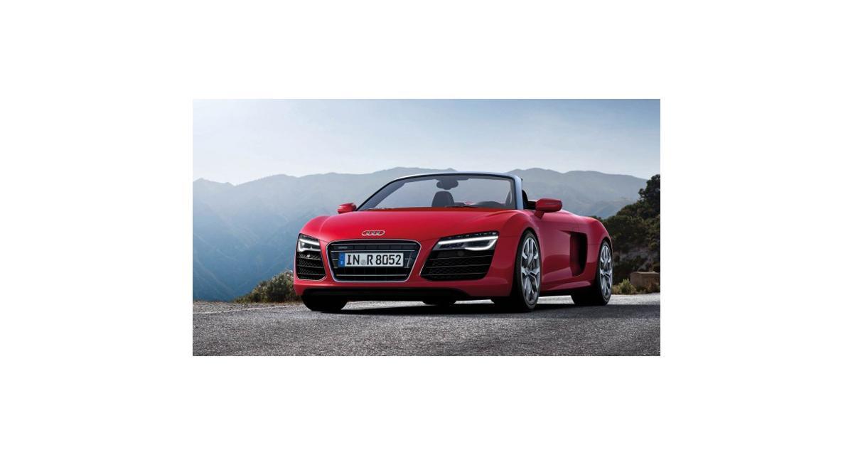 Audi : la prochaine R8 produite dans une nouvelle usine