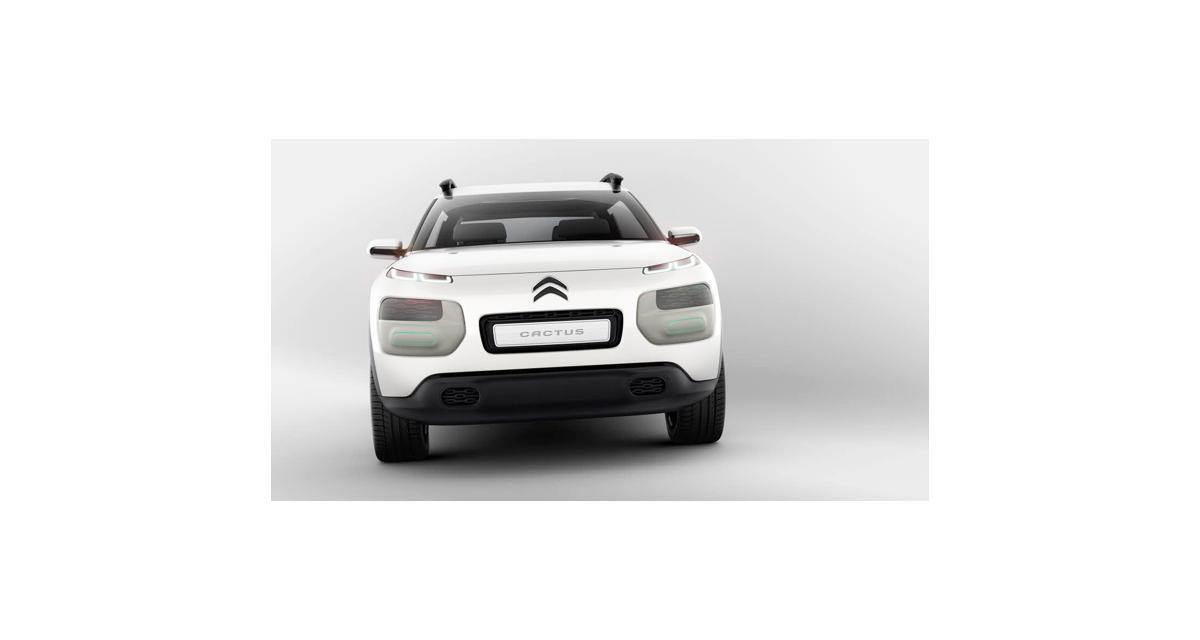 Citroën C4 Cactus : la gamme Cactus inaugurée le 5 février 2014