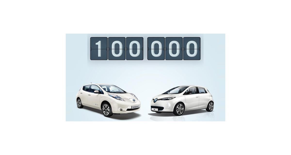 100 000 Renault et Nissan électriques dans la nature