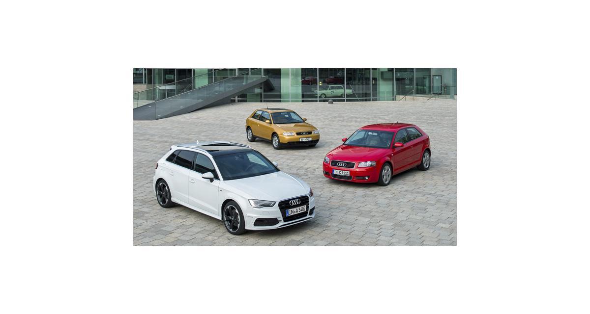 Audi A3 : trois millions d'exemplaires vendus
