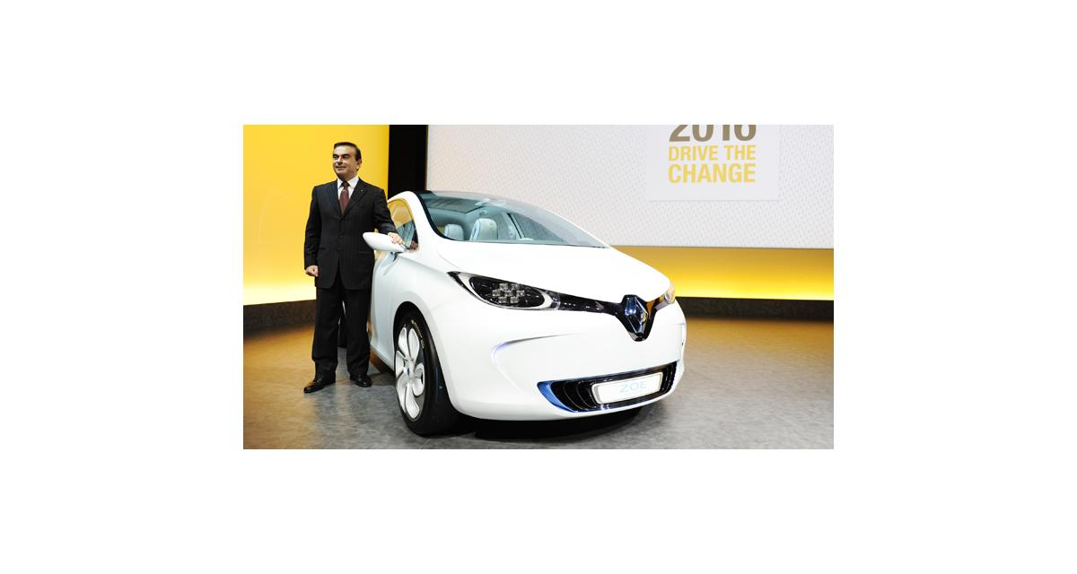 """Carlos Ghosn : """"L'électrique, c'est une certitude"""""""