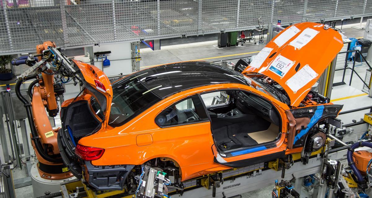 BMW M3 Coupé (E92) : l'assemblage du dernier exemplaire