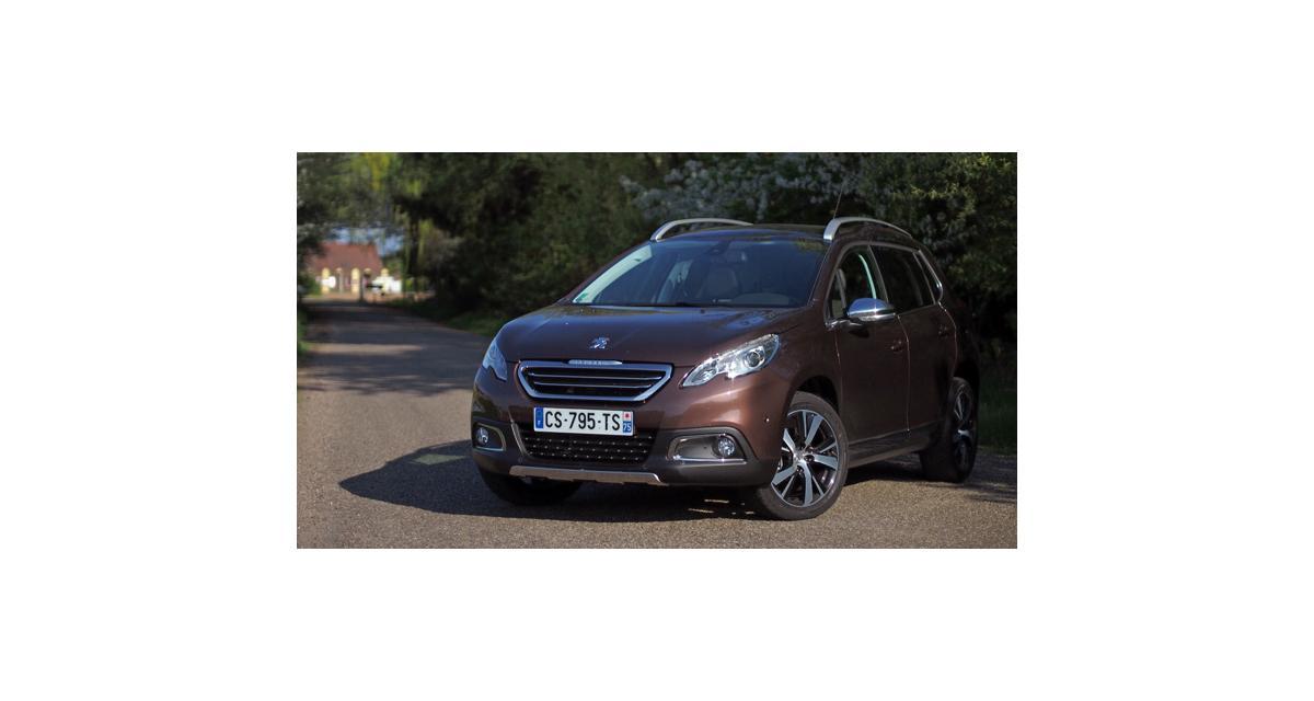 Peugeot 2008 : 26 000 commandes en deux mois