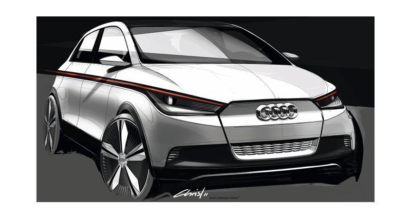 Audi : vers un monospace compact aux anneaux