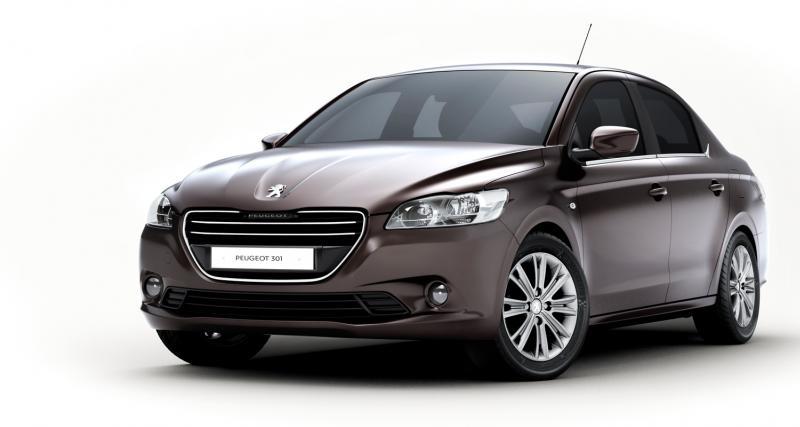 Peugeot 301 : produite et vendue en Chine
